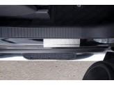 Хромированные накладки для Jeep Compass на пороги,полир. нерж. сталь для мод. с 2014 г.