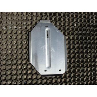 Защита дифференциала для Jeep Cherokee (алюминий) 4 мм