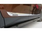 """Комплект хромированных накладок с логотипом """"RAV4"""" из 4 ч."""