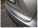 Хромированная накладка для Lexus NX на задний бампер, нерж. сталь