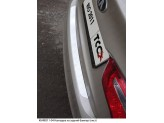 Хромированные накладки для Kia Rio на пороги, полир. нерж. сталь