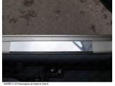 Хромированные накладки для Kia Rio на пороги,полир. нерж. сталь