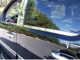 Хромированные молдинги стекол Chevrolet Tahoe 2007-2013 г.