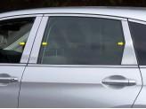 Хромированные накладки на дверные стойки Honda CR-V