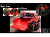 Крышка кузова виниловая, трехсекционная, цвет черный, изображение 7