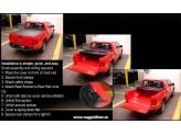 Крышка кузова виниловая***,трехсекционная, цвет черный для DOUBLE CAB 5ft, изображение 2
