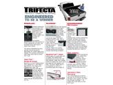 """Крышка пикапа для Toyota HiLux, трехсекционная, серия """"Trifecta 2.0"""", изображение 5"""