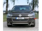 Комплект решёток для Volkswagen Touareg, полир. нерж. сталь