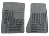"""Коврики Husky liners для Cadillac SRX резиновые """"Heavy Duty"""" в салон передние, цвет серый"""