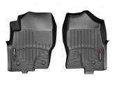 Коврики WEATHERTECH для Nissan Navara D 40 передние в салон,цвет черный для мод. с 2011 г.