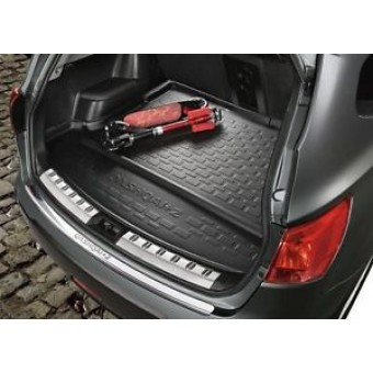 Коврик багажника для Nissan Qashqai, цвет черный