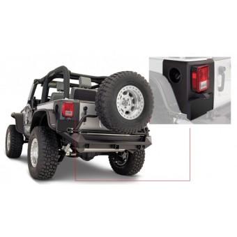Защита задних углов кузова(комплект из 2- шт . (Jeep,для 2-х дверной.07-14 г.)