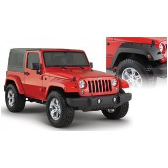 """Расширители колесных арок """"Pocket Style"""" (Jeep Wrangler 07-14 г.в.,для 2-х дв.,эадняя пара 4,75"""")"""