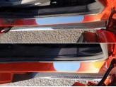 Хромированные накладки для Ford EcoSPORT на пороги,полир. нерж. сталь