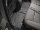 Коврики WEATHERTECH для Hyundai Santa-Fe задние, цвет черный