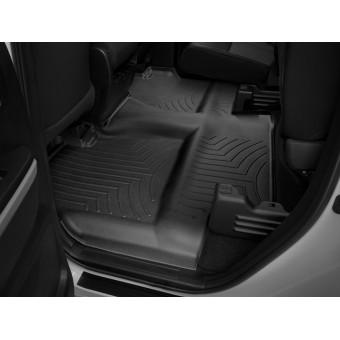 Коврики WEATHERTECH для Toyota TUNDRA задние, цвет черный, для Double Cab