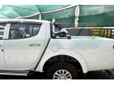 Защитная дуга для Ford F150 в кузов пикапа, цвет черный (возможна установка с трехсекционной крышкой), изображение 2
