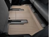Коврики WEATHERTECH для Toyota Sequoia 3-ий ряд, цвет бежевый
