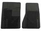"""Комплект передних, резиновых ковриков """"Heavy Duty"""", цвет черный, изображение 2"""