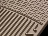 Коврики WEATHERTECH для Toyota Venza резиновые, цвет бежевый, изображение 5