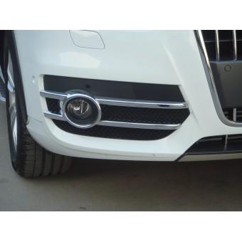 Хромированные накладки Audi Q3 на противотуманные фары