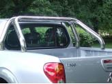 Защитная дуга в кузов пикапа 70 мм,полир. нерж. сталь
