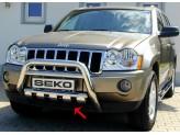 Защита картера для Jeep Grand Cherokee, полир. нерж. сталь