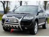 Защита картера для Volkswagen Touareg полир. нерж. сталь