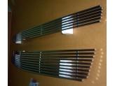 Решетка радиатора,полир. нерж. сталь