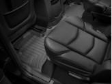 Коврики WEATHERTECH для Cadillac Escalade 2-ой ряд, цвет черный