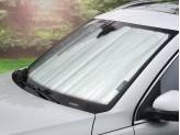 Солнцезащитный экран на лобовое стекло Mercedes-Benz M-class W164, цвет серебристый/черный