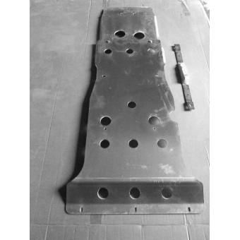 Защита картера алюминиевая 5 мм (1500 x 650 мм,толщина листа 5 мм)