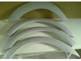 Расширители колесных арок из 4 частей