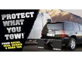 Комплект задних брызговиков Rock Tamers на Toyota Sequoia с накладкой из нерж. стали