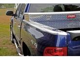 Алюминиевые боковые накладки на борта кузова пикапа ** 2009-2014 г.