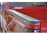 Алюминиевые боковые накладки на борта кузова пикапа **(можно заказать пластиковые и из нерж. стали,доп. цвет черный) 2009-2014 г., изображение 3
