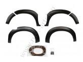 Расширители колесных арок из 6 ч.,пластик ABS (профиль уплотнительный с двухсторонним скотчем 3М,металлические крепления - 10 шт.) для мод. с 2013 г, изображение 2