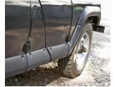 Расширители колесных арок с молдингами на двери из 10 ч.,пластик ABS, изображение 3