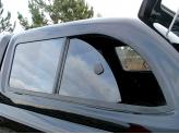 """Крыша пикапа """"STARLUX"""" под окраску (дополнительный стоп сигнал,боковые окна раздвижные,внутренние освещение,тонировка,ковровая обшивка), изображение 8"""