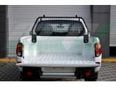 Защитная дуга с защитой заднего стекла в кузов пикапа, цвет черный (черная сталь 40 х 40 мм , толщина стенки 2 мм), изображение 2