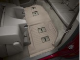 Коврики WEATHERTECH для Cadillac Escalade ESV 3-ий ряд, цвет бежевый, для bench seating