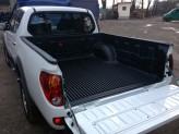 Ковер-вставка в кузов пластиковая для двойной кабины на борта