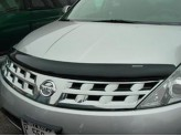 Дефлектор капота WEATHERTECH для Nissan Murano, темный