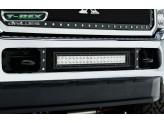 Решетка в передний бампер с подсветкой,цвет черный 2011-2015 г.