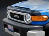 Дефлектор капота WEATHERTECH для Toyota FJ CRUISER, темный