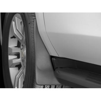 Комплект передних брызговиков WEATHERTECH на Cadillac Escalade (для авто из USA, без порогов с электроприводом)