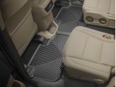 Коврики WEATHERTECH для Toyota Highlander резиновые, цвет черный (1-ый и 2-ой ряд), изображение 2