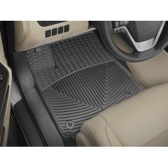 Коврики WEATHERTECH для Toyota Highlander резиновые, цвет черный (1-ый и 2-ой ряд)