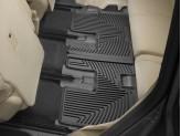 Коврики WEATHERTECH дляToyota Highlander резиновые 3-ий ряд, цвет черный