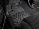 Коврики WEATHERTECH для Toyota TUNDRA передние, резиновые,цвет черный для мод. с 2012 г.